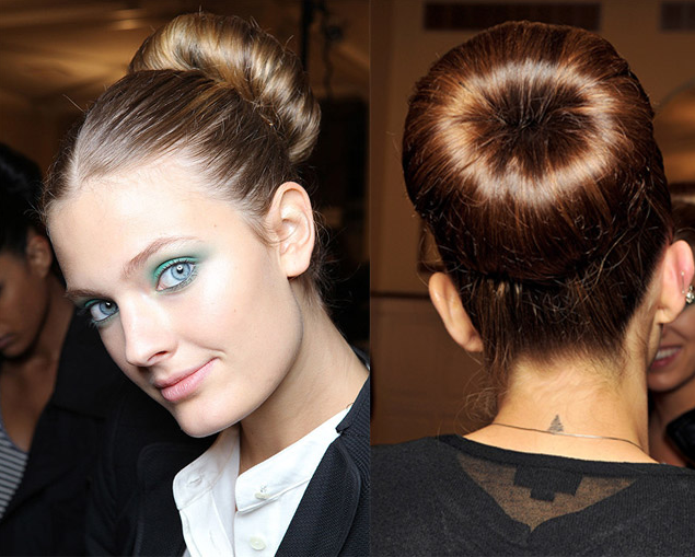 Topuz Saç Modelleri 2014