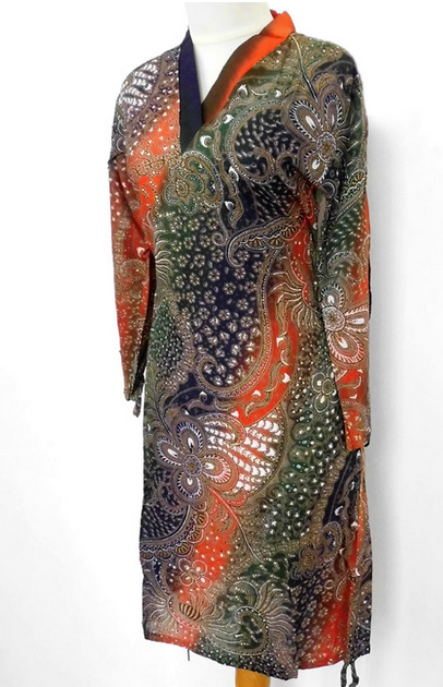 Batik Elbiseler 2014