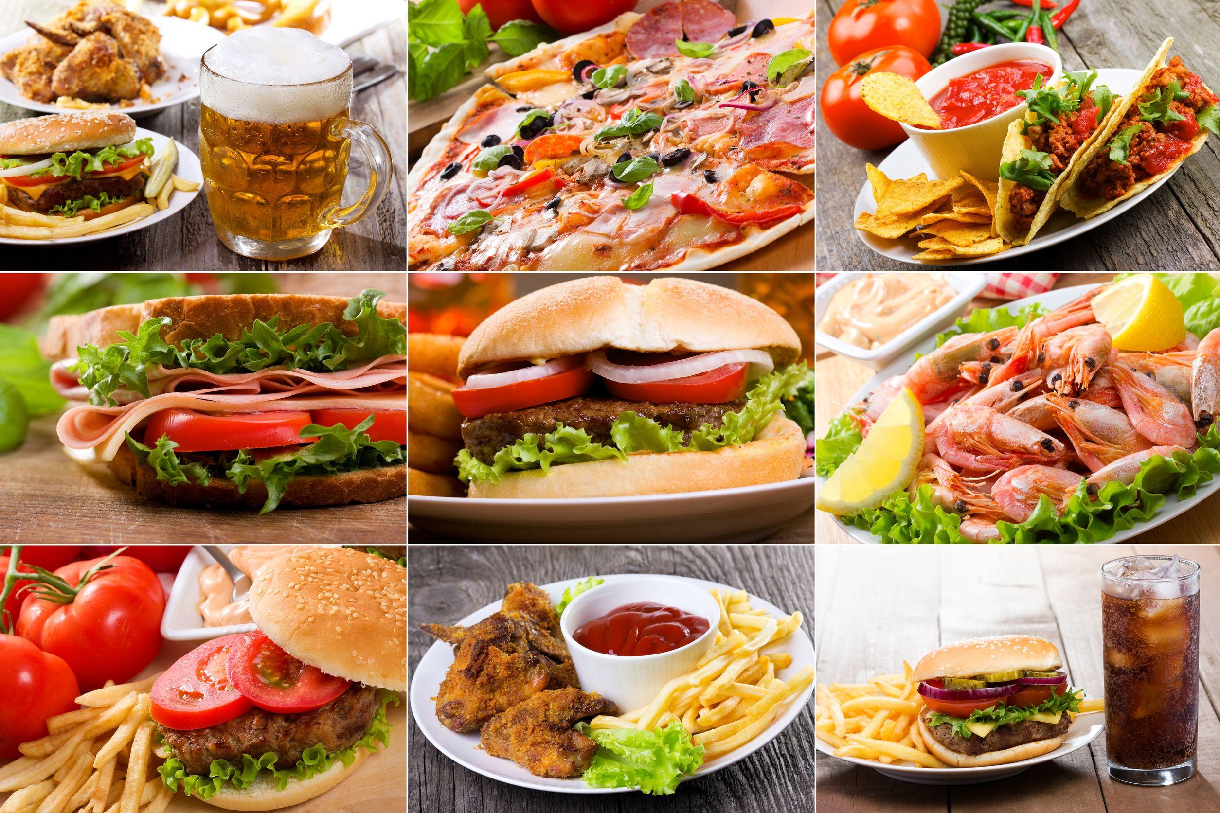 Fast food dan korkmayın