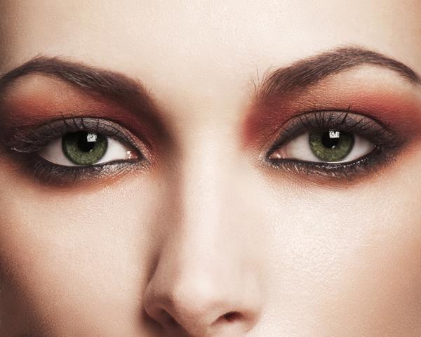 Yeşil Gözlerde Makyaj