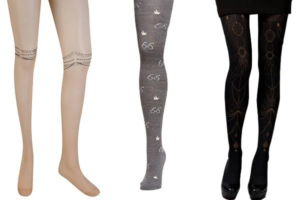 Desenli Çoraplar