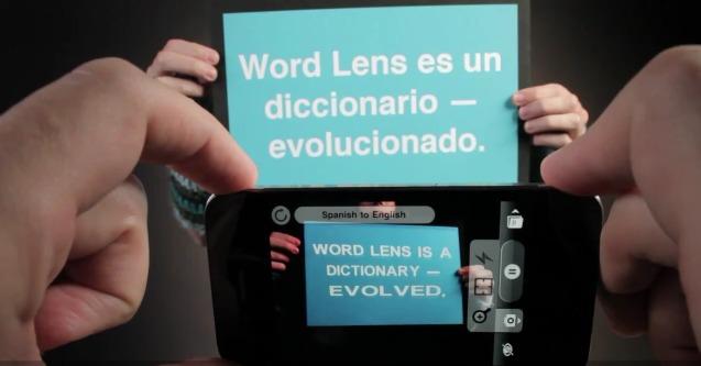 word lens çeviri