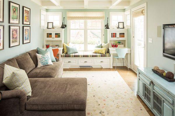 Rahat ve Şık Oturma Odası