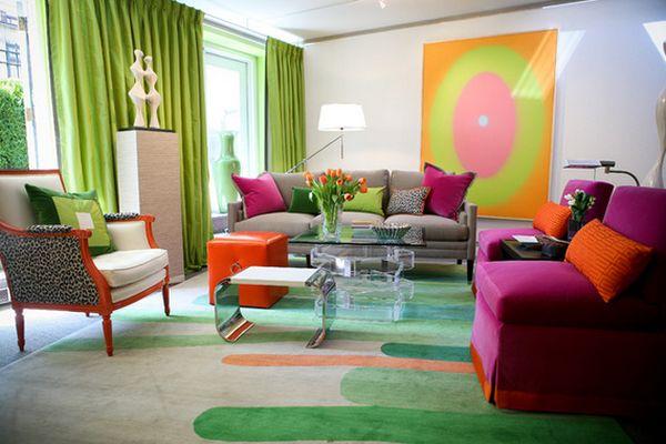 Renkli Oturma Grupları