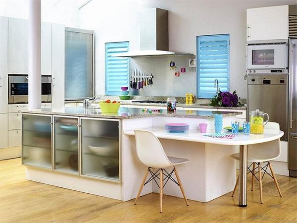 Küçük mutfakları geniş göstermenin yolu