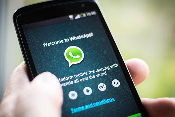 whatsapp geliyor