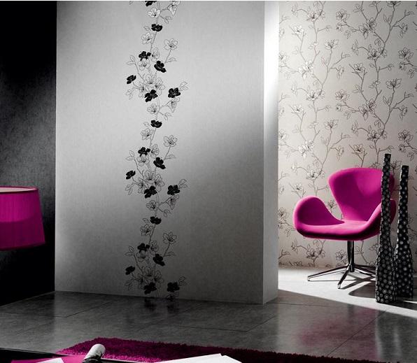 desenli duvar kağıtları